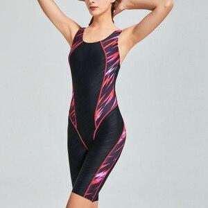 Image 4 - Riseado One Piece Swimsuit 2020 Sport Swimwear Women Racer Back Competitive Swim Wear Boyleg Patchwork Swimming Suits for Women
