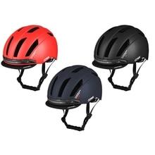 Helmet Cycling Led-Turn-Signal-Light Smart-Bike Women Unisex with Back-Lamp Usb-Charging