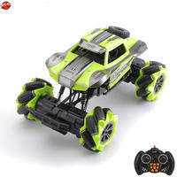 Electric All Dound Driving Remote Control RC Car Kids Toy 12CH 4WD Stunt Drift Auto Display Dancing Music RC Car With LED Light