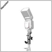Metal Flash Bracket Universal Hot Shoe Speedlite Umbrella Holder With 1/4