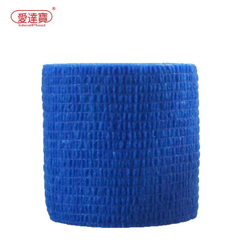 9 piezas de 5cm * 4,6 m impermeable deportes cinta de kinesiología elástica auto-adhesivo músculo vendaje Strain Injury de apoyo