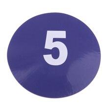 10 шт футбольный учебный знак диск пластины Оборудование для вывески препятствий