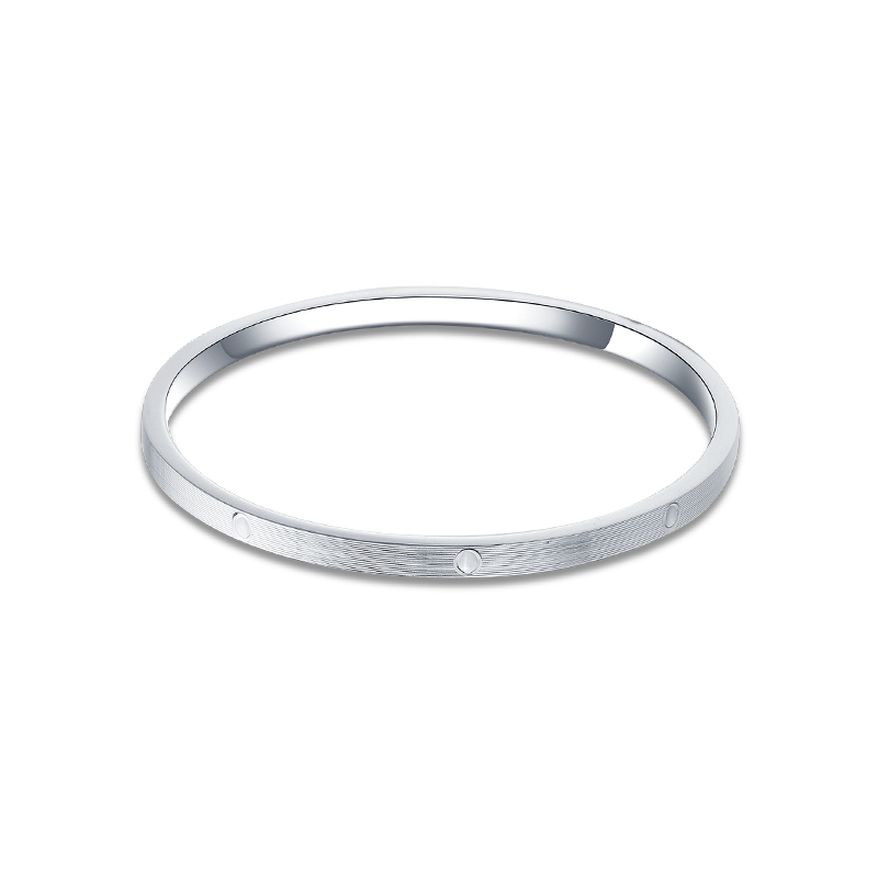 SA SILVERAGE Star Series S999 Silver 18.5g 60x60mm Bracelet Female Sterling Silver Jewelry Simple Personality Fashion