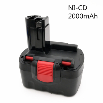 For Bosch 14.4V 2000mAh Ni-CD Rechargeable Power Tool Battery For Bosch BAT038 15614 1661 1661K 22614 23614 32614 33614