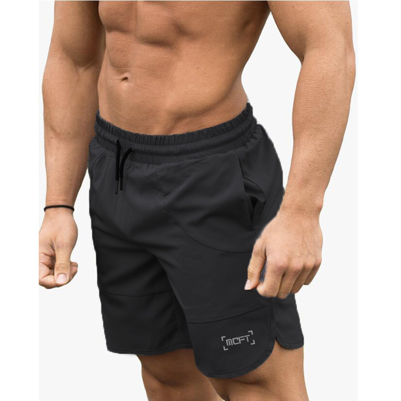 Muscleguys Brand Clothing Bodybuilding Shorts Men Fitness Workout Casual Print Sportswear Quick Dry Gyms Short Pants