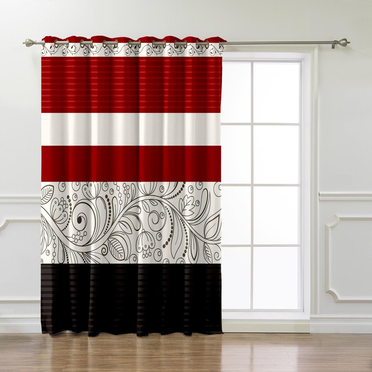 Room Curtains Large Window Curtain Rod