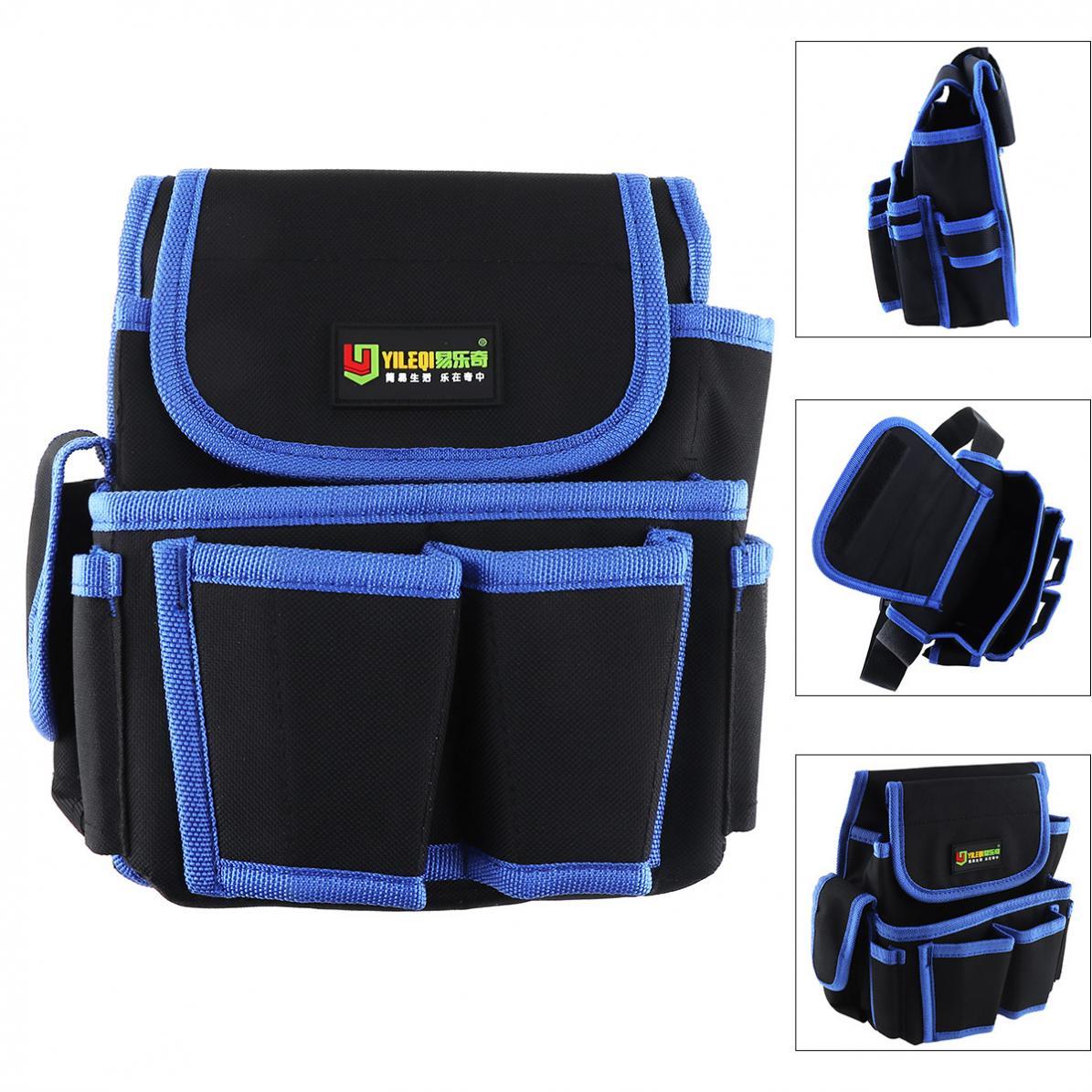 Multifunctional Package Waterproof Waist Tool Bag Durable Package With 4 Holes 2 Pocket For Home / Industrial Maintenance