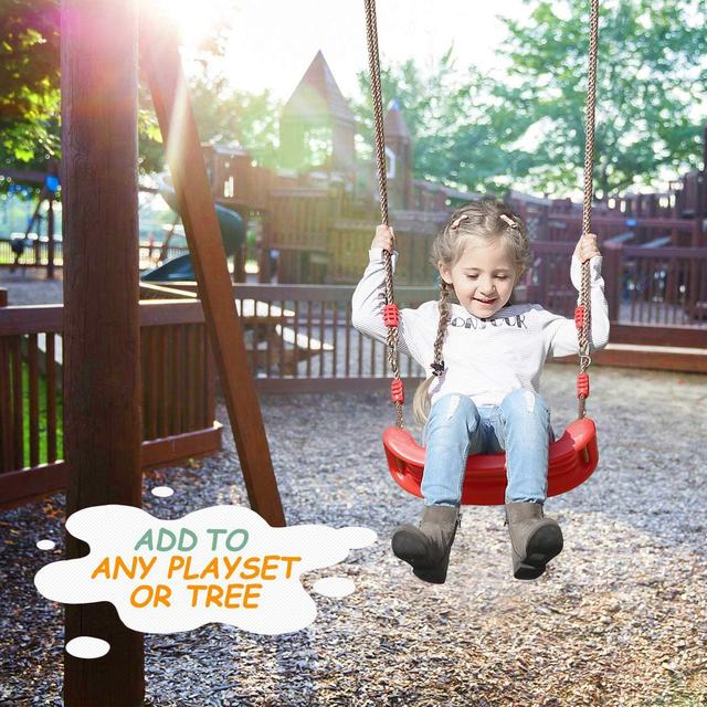 150kg Load Multifunctional Baby Swing Hanging Basket Outdoor Kids Toy Baby Swing Toy Patio Swings 2