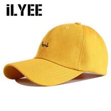 Новинка 2020 летняя черная белая желтая 5 папин шапка хлопковая