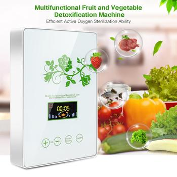 Multifunctional Fruit and Vegetable Meat Detoxification Machine Ozone Generator Machine Fruit and Active Oxygen Air Purifier linlin multifunctional fruit and vegetable purifier ozone machine fruit and vegetable detoxification machine air sterilizer