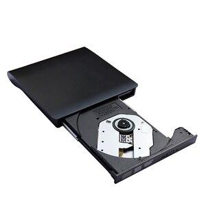 Image 3 - USB 3,0 тонкий внешний DVD RW CD записывающее устройство, устройство для чтения и записи дисков, оптический привод для ноутбука, ПК, dvd