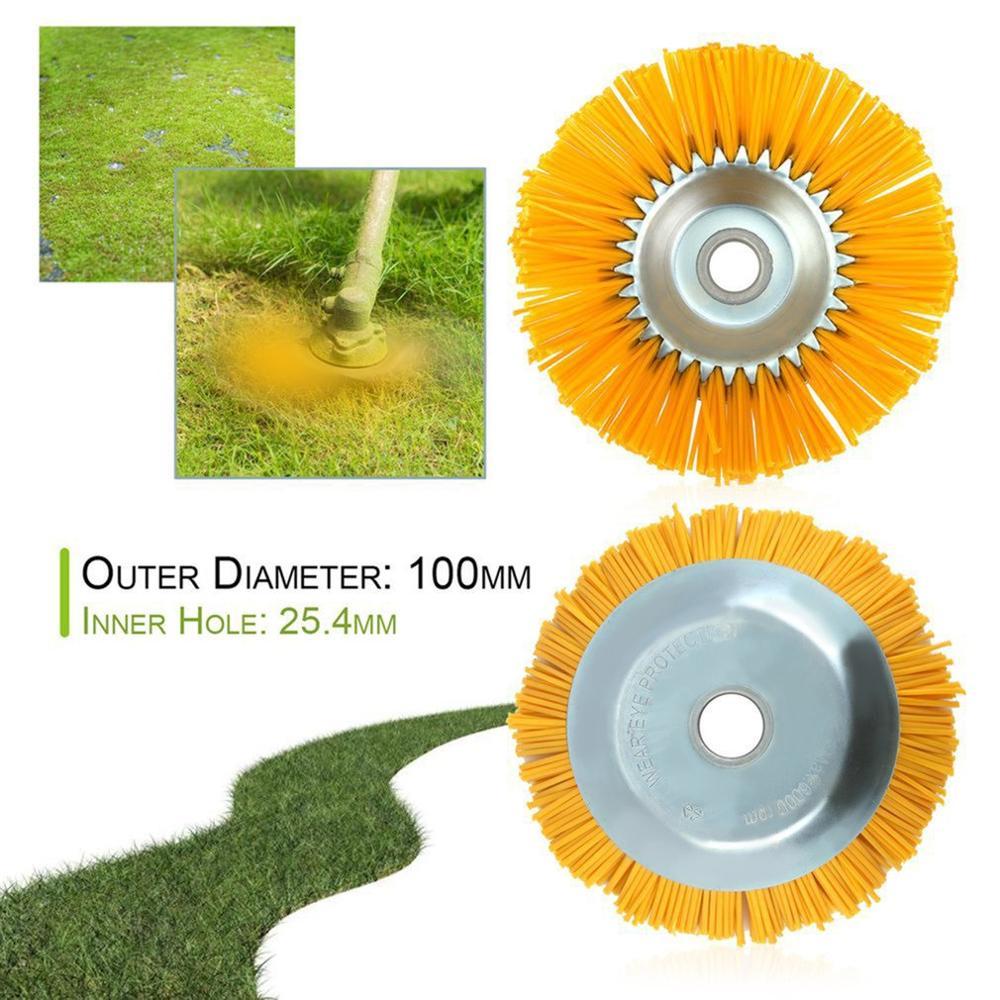 Bowl Type Mechinery Brush Cutter Durable Nylon Wire Weeding Brush Wire Wheel Tools Supplies Industrial Brush