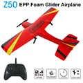 Z50 RC avión EPP espuma Glider giroscopio de avión 2,4G 2CH Control remoto Wingspan 25 minutos tiempo de vuelo RC aviones de juguete