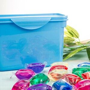Цветной стиральный шарик капсулы растворить очиститель пятен концентрат стиральный порошок стручок