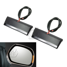 Motorcycle LED Mirror Light Case for Honda GOLDWING GL1800 Airbag ABS 2001-2017 (#7513)