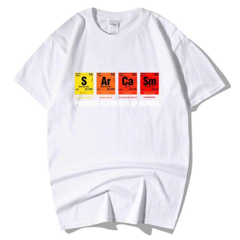 Periodensystem Von Humor Sarkasmus T-Shirt Lustige Geburtstag Geschenk Für Männer Kurzarm Baumwolle Primäre Elemente Chemie T Shirts