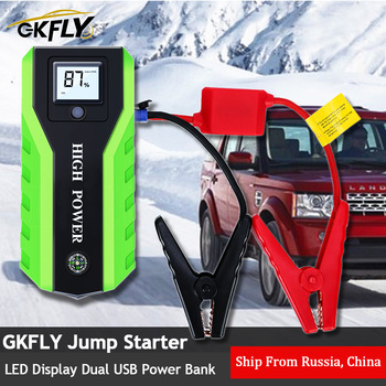 цена на GKFLY Multi-Function 20000mAh 12V Starting Device 1000A Car Jump Starter Power Bank Car Charger For Car Battery Booster Buster