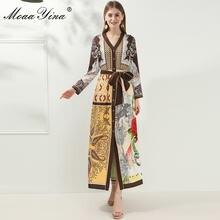Модное дизайнерское платье moaayina весенне осеннее женское