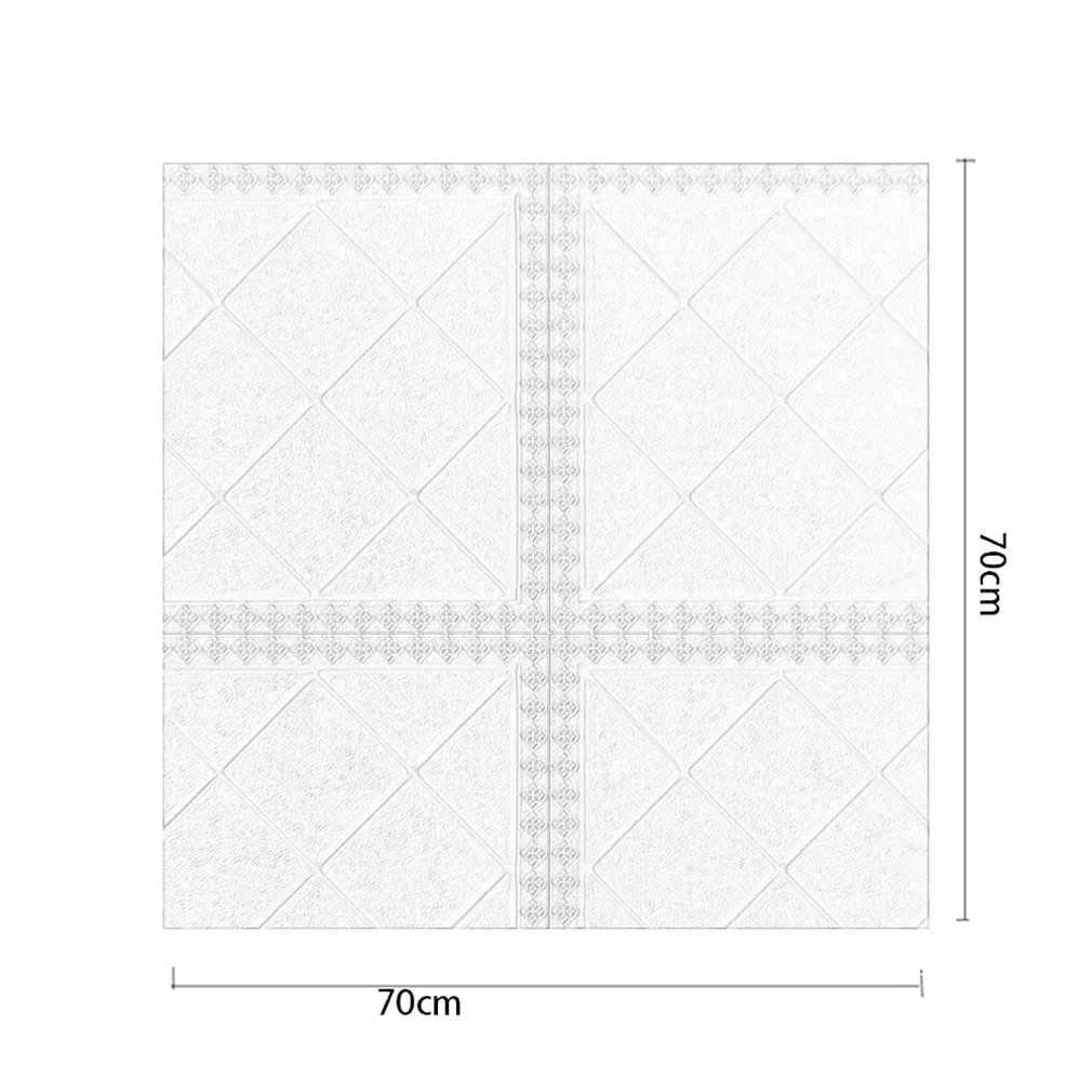 3D בריק דפוס לוחות קיר מדבקות טפט DIY עמיד למים לסלון חדר שינה מטבח רקע קיר קישוט