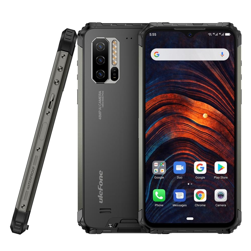 Фото. Ulefone Armor 7 4G LTE смартфон Восьмиядерный 8 ГБ + 128 ГБ IP68 прочный мобильный телефон Helio P90