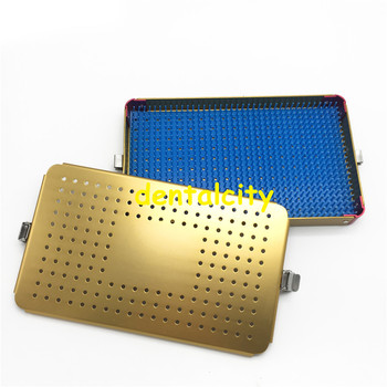Disinfection tray box Single layer Sterilization box for Ophthalmic/dental surgical instrument