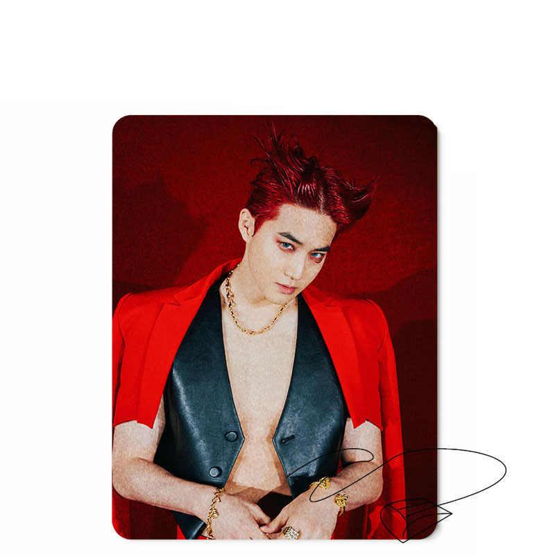 EXO Nieuwe Album Obsession Muismat Spelletjes Spelen Pad Bureau Decor Foto XIUMIN SUHO LAG BAEKHYUN CHEN CHANYEOL KAI