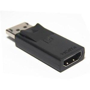 Image 2 - Cổng Hiển Thị DP Male To HDMI Adapter Đen Chất Lượng Cao Dp Sang HDMI Cho HDTV PC