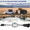 Свяжитесь с нами для того, чтобы Европа трейлер светильник конвертер 4 способа плоский разъем (американских автомобилей) до 7 способ круглый ...