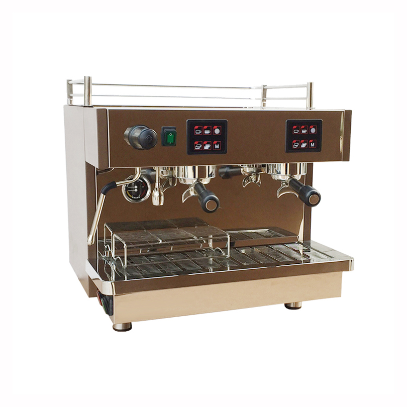 Купить с кэшбэком KT-9.2H Commercial semi-automatic coffee machine Economical wholesale espresso machine 2 group stainless steel coffee maker