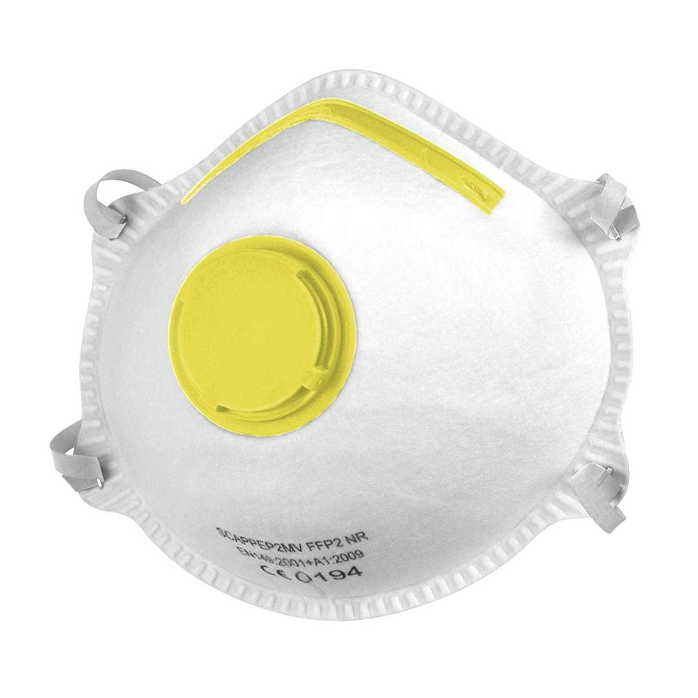In Stock! Disposable Breathable FFP3 Mask FFP2 (=KN95) MASK With Valve Adjustable Headband Dust-proof And Fog-proof Hot Sale