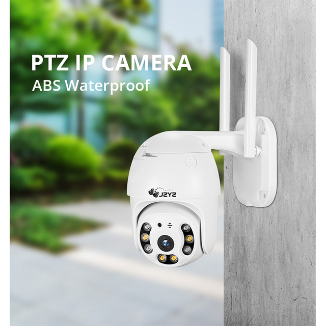 PTZ Wireless IP Camera Waterproof 4X Digital Zoom Speed Dome Super 1080P WiFi Security CCTV Two-Way Audio AI Human Detection 2
