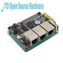 1 قطعة جهاز التوجيه som9331 ar9331 openwrt واي فاي وحدة انخفاض استهلاك الطاقة 10 + GPIO 64 متر
