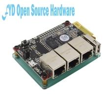 1pc נתב som9331 ar9331 openwrt wifi מודול נמוך צריכת חשמל 10 + GPIO 64m