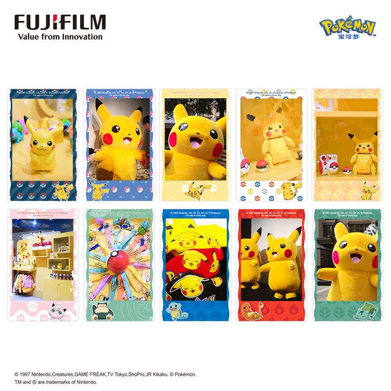 Fujifilm Instax מיני סרט אופציונלי תמונה מסגרת 10 תמונה גיליון נייר עבור Instax מיני 9 מיני 8 מיידי מיני 70 90 סרט מצלמה