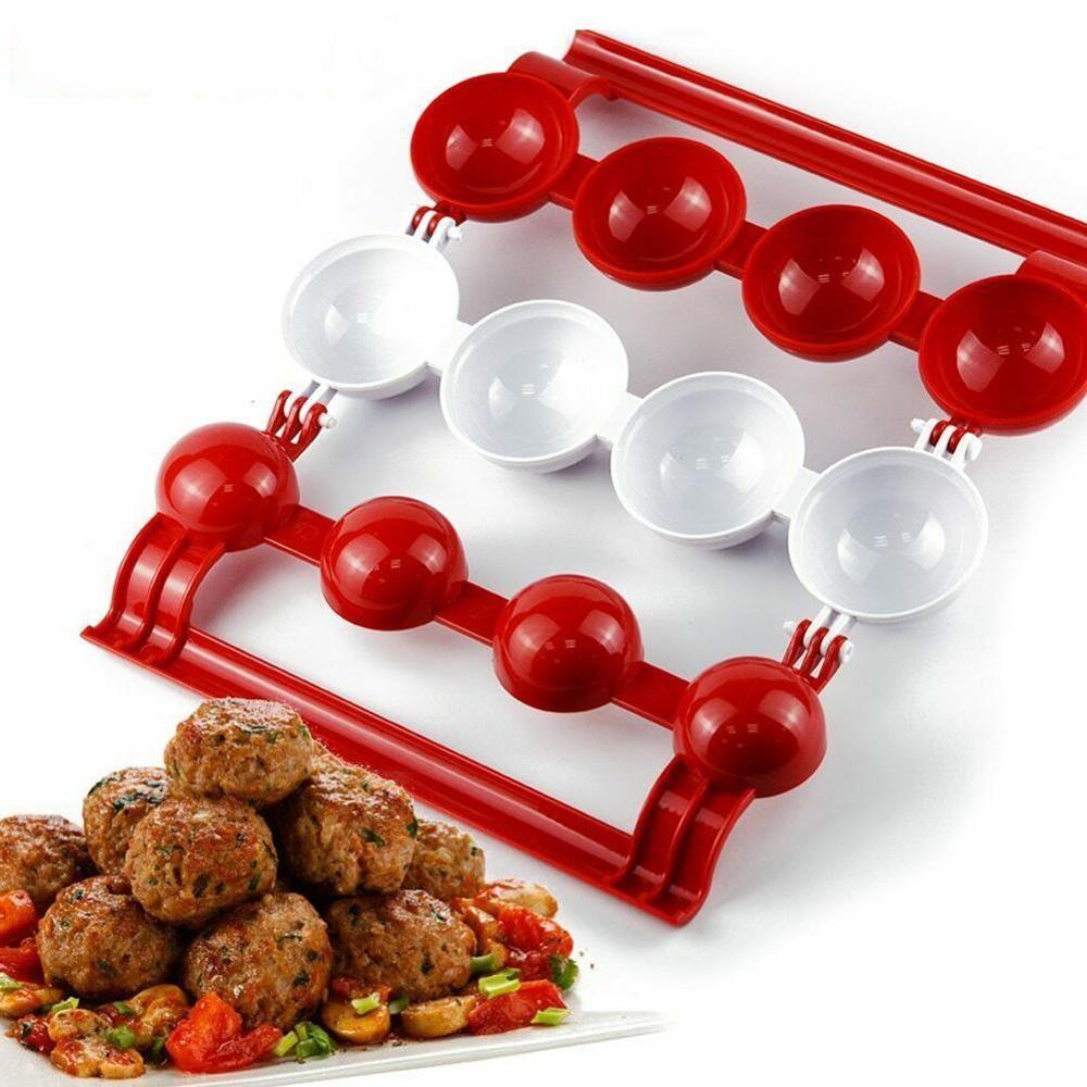 Meatballs Fishballs Mold Fish Meat Balls Maker Homemade DIY Mould Cooking Tools