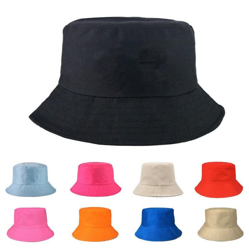 Bucket Hat Women Men Summer Fishing Hats Casual Fishermen Cap Brim K Pop Hip Hop Bucket Hat Female Leaf Bucket Hat