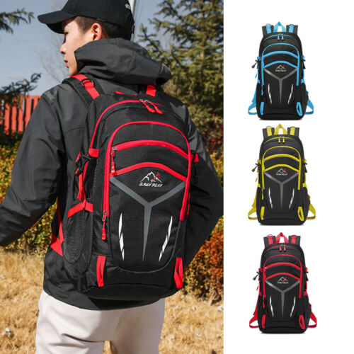 Men Boys Large Backpack Big Rucksack Fishing Sports Travel Hiking School Bag 40L 60L