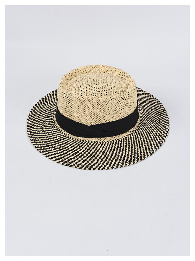 Chapeau de soleil été tissé à la main,chapeau paille