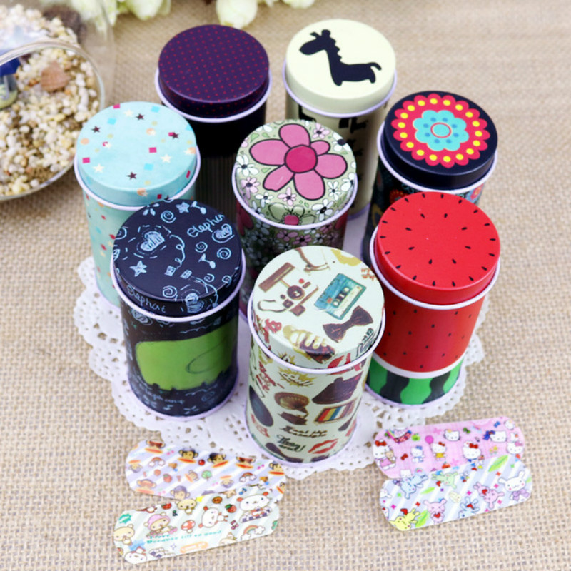 Cartoon Bandages Adhesive Bandages Hemostasis Band Aid Sterile Stickers Wound Plaster First Aid For Kids Children