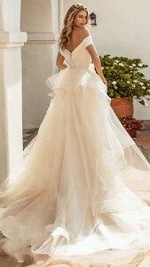 Image 5 - Verngo Mermaid düğün elbisesi es Ayrılabilir Tren Boho düğün elbisesi Vintage gelinlik Trouwjurk Törenlerinde Vestido De Noiva 2019