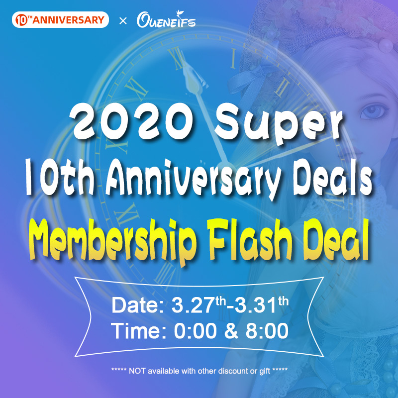 2020 Super 10th Anniversary Deals Free Shipping Membership Flash Deal On Mar. 27th To 31th
