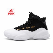 basketball shoes men s shoes discount parker ii tp9 signature boots spring breathable sports shoes e44323a peak PEAK Men Streetball Master Basketball Shoes Breathable Anti-slip Wearable Basketball Sneakers Rebound Gym Outdoor Sports Shoes