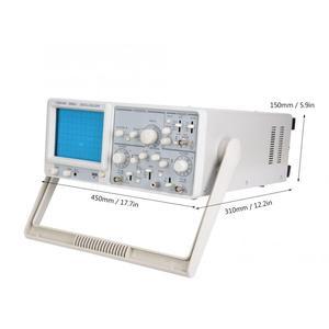 Image 5 - YD4320 20MHz 2 canaux Oscilloscope haute sensibilité double Trace Oscilloscope analogique 220V