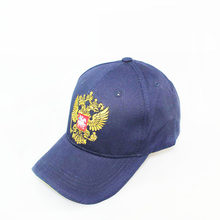 New Neutral Cotton Outdoor Baseball Cap Russia Badge Embroidery Snapback Fashion Sports Hat Men and women with Patriot Hat bone(China)