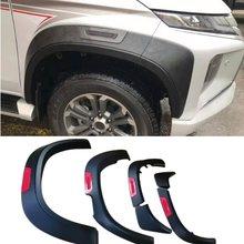 Couvercle de plaque de garde-boue latéral pour Mitsubishi Triton L200 2019 2020, accessoires de voiture