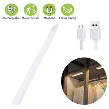 LED Under Cabinet Light PIR Motion Sensor Lamp Cupboard Wardrobe Bed Lamp USB Rechargeable Night Light For Closet Stair Kitchen high bright led tubes pir motion sensor lamp under cabinet light high bright tubes for kitchen wardrobe cupboard drawer closet
