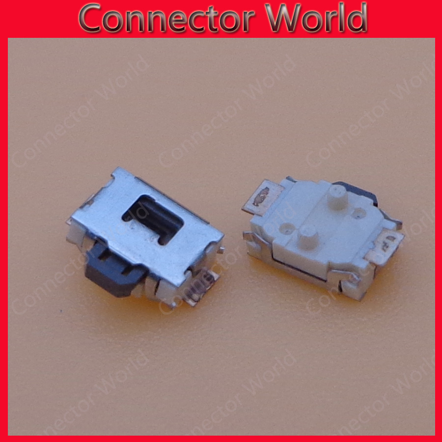 5pcs Power button for <font><b>Nokia</b></font> 5800 N81 <font><b>6300</b></font> 2P SMD Power switch <font><b>Phone</b></font> button image