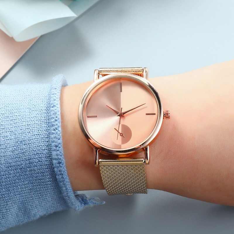 שעונים אישה 2020 נשים קוורץ שעונים למעלה מפורסם יוקרה מותג נשי שעון פלדת גבירותיי יד שעונים לנשים שעוני יד