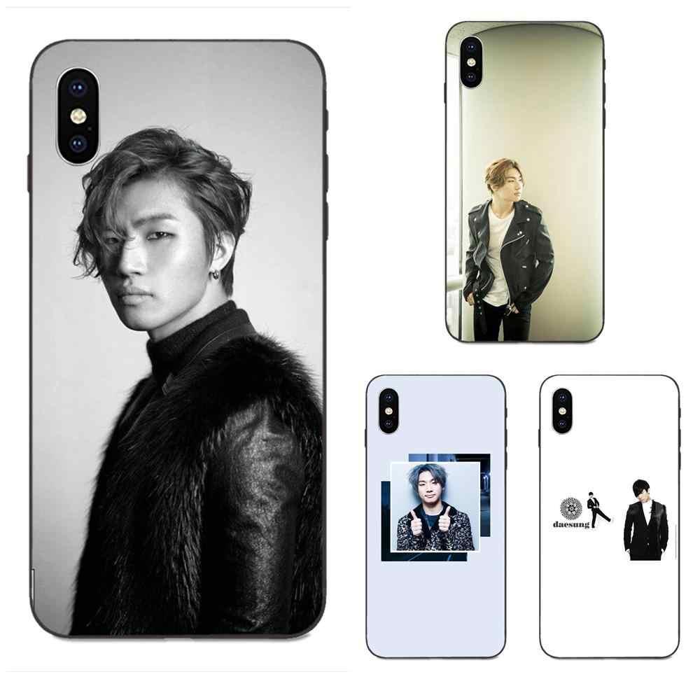 Чехол для телефона из мягкого силикона ТПУ с рисунком черный Лидер продаж для Huawei Honor 5A 6A 6C 7A 7C 7X8 8A 8C 8X9 9X10 10i 20 Lite рro KPOP BIGBANG Daesung