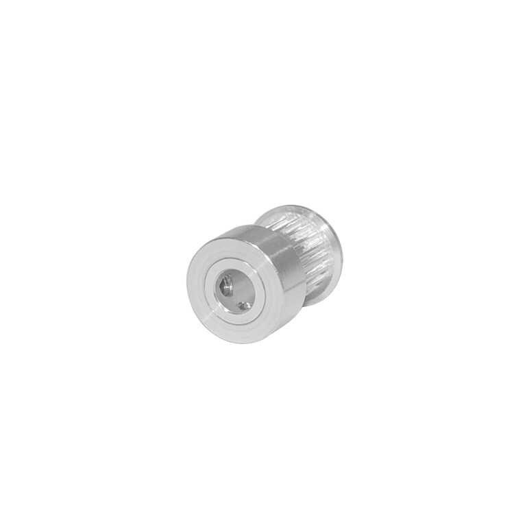 A polia cronometrando gt2 20 dentes furou 5mm 6mm 6.35mm 8mm para a largura 15mm 2gt correia síncrona pequena folga 20 dentes